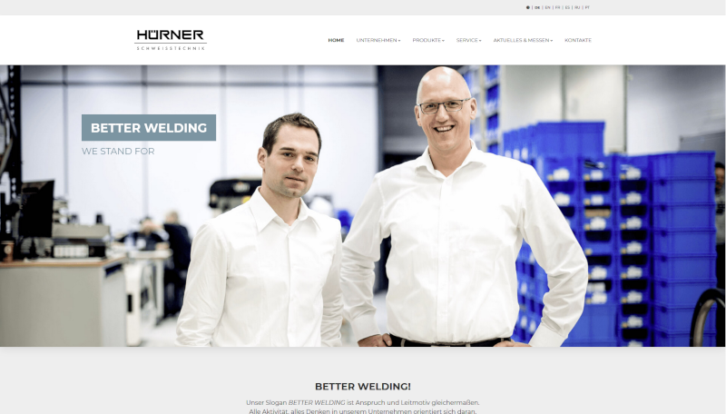 gm-w projekt website huerner